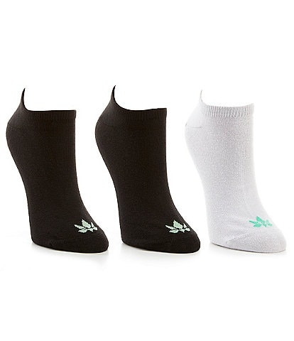 HUE Theracom No Show Socks with CBD 3 Pack