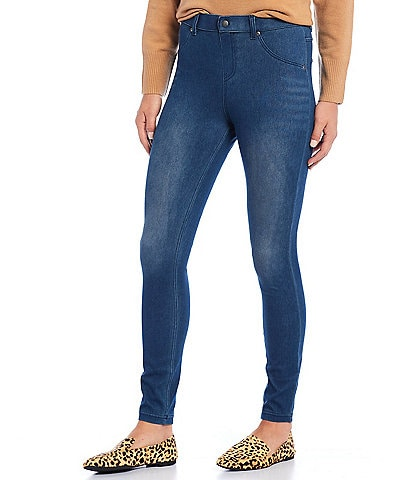 HUE Ultra Soft High Waist Denim Leggings