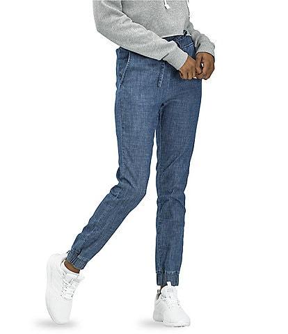 HUE WearEver U R Linen Like Pull-On Joggers