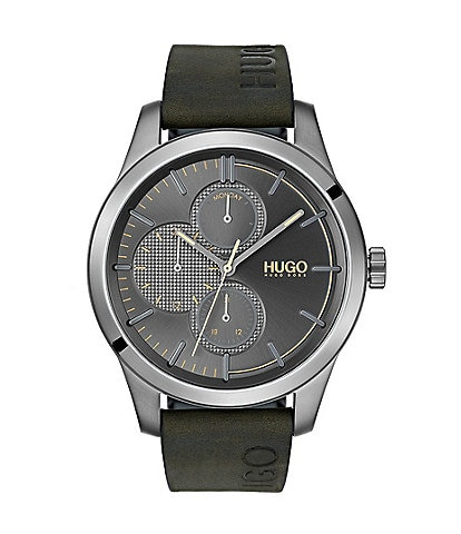 Hugo Boss Discover Leather Watch