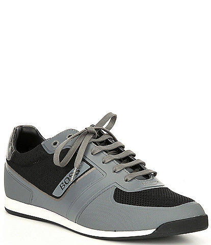 Hugo Boss Men's Glaze Lace-Up Sneakers