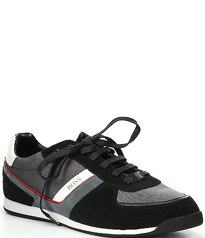 Hugo Boss Men's Glaze Low Profile MX Trainters