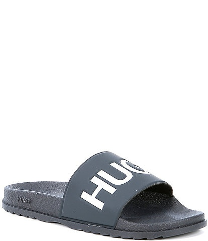 Hugo Boss Men's Match Logo Slide Sandals