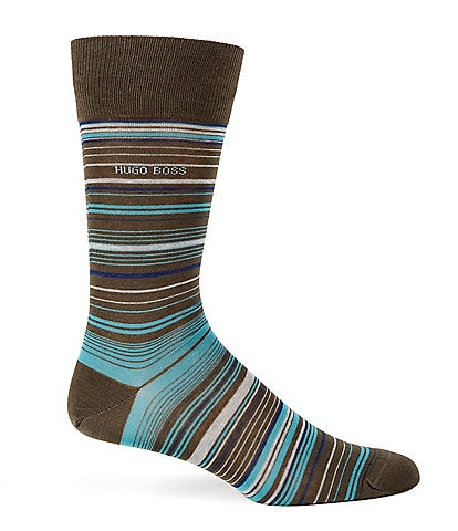 Hugo Boss RS Multistripe MC US Crew Socks