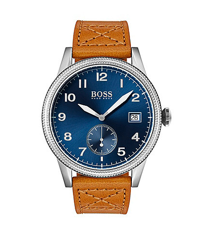 Hugo Boss The Legacy Collection Light Brown Leather Watch