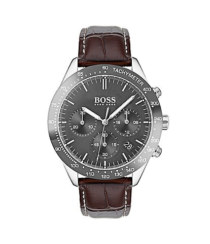 BOSS Hugo Boss THE TALENT COLLECTION Brown Leather Watch