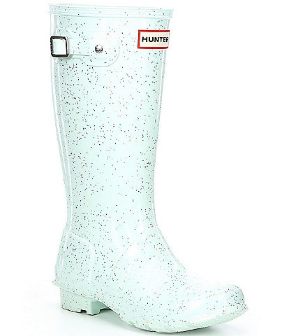 Hunter Girls' Original Giant Glitter Waterproof Rainboots (Youth)
