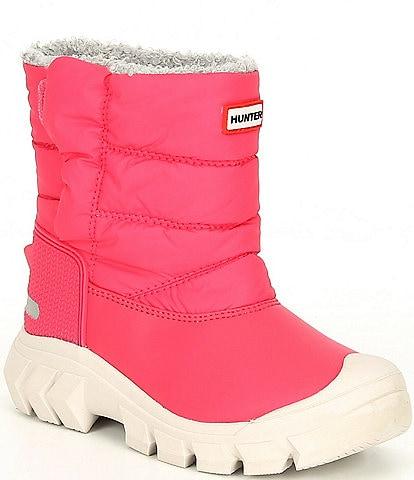 Hunter Girls' Original Insulated Alternative Closure Waterproof Snow Boots (Infant)