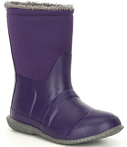 Hunter Girls' Original Insulated Roll Top Sherpa Boots (Infant)