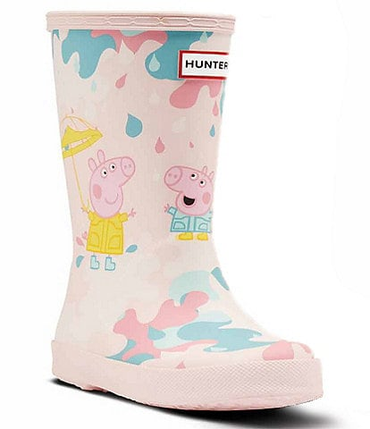 Hunter Girl's Peppa Pig Muddy Puddle Rain Boots (Toddler)
