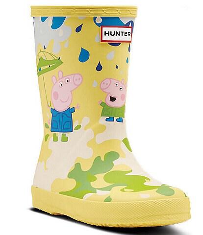 Hunter Girl's Peppa Pig Muddy Puddle Rain Boots (Youth)