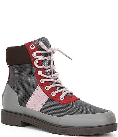 Hunter Insulated Water Resistant Suede Lace-Up Command Boots