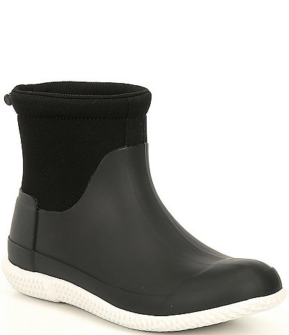 Hunter Mesh Rubber Short Rain Boots