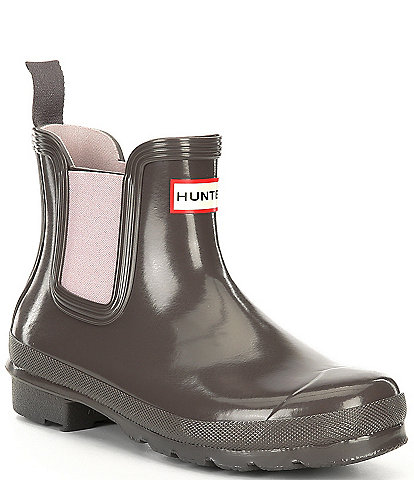 Hunter Original Chelsea Gloss Waterproof Rain Booties