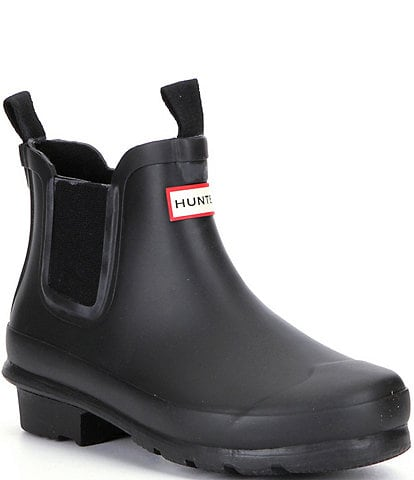 Hunter Kids' Original Chelsea Waterproof Rain Boots (Youth)
