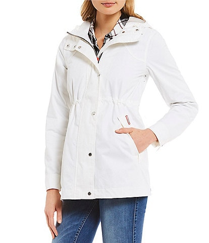 Hunter Original Cotton Smock Water Resistant Rain Jacket