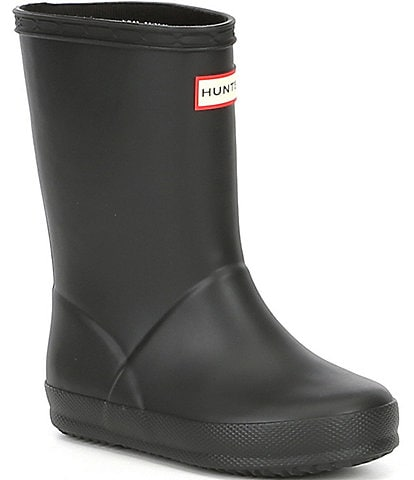 Hunter Kids' Original First Matte Waterproof Rain Boots (Toddler)