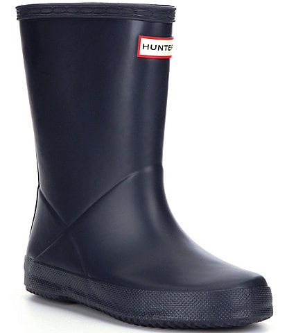 Hunter Original First Matte Kids' Waterproof Rain Boots