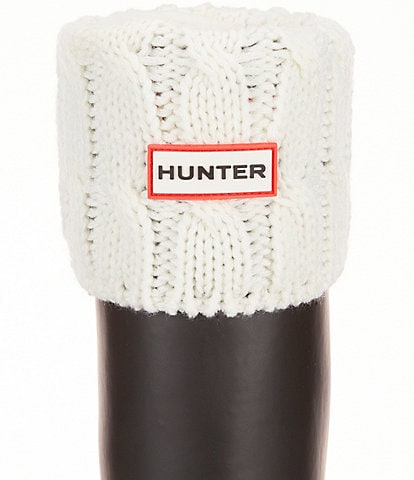 Hunter Original Six-Stitch Cable Short Boot Socks