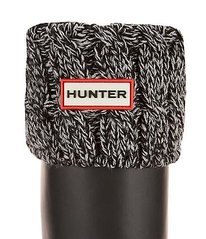 Hunter Original Six-Stitch Cable Tall Boot Socks