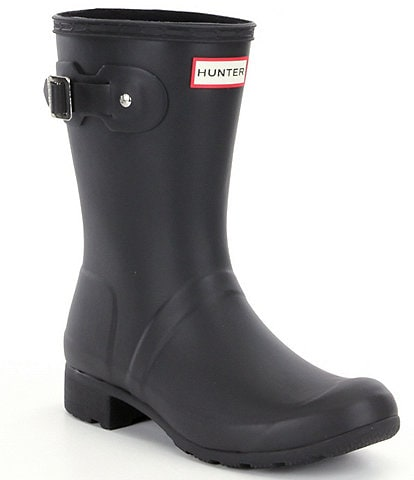 Hunter Women's Original Tour Matte Short Rain Boots
