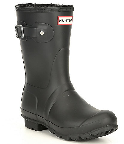 Hunter Short Insulated Waterproof Boots