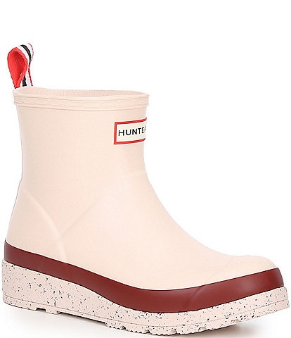 Hunter Short Playboot Speckle Waterproof Rain Boots