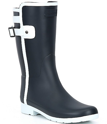 Hunter Short Refined Contrast Boots
