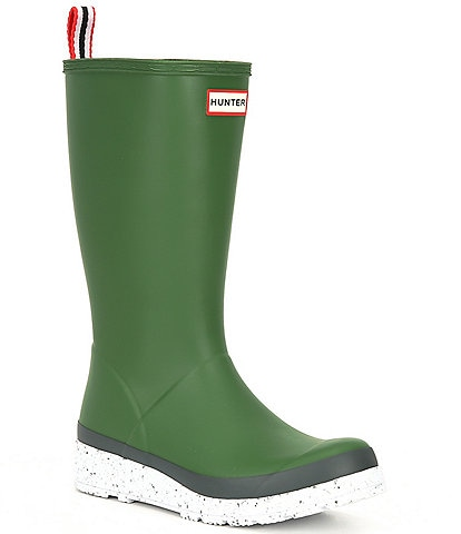Hunter Tall Playboot Speckle Rain Boots