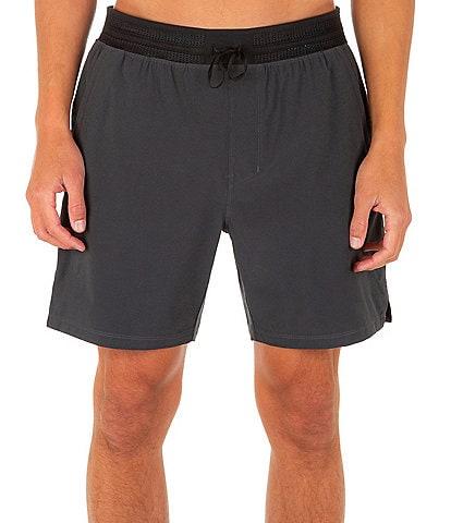 Hurley 17.5#double; Outseam Phantom Explore Trails Shorts