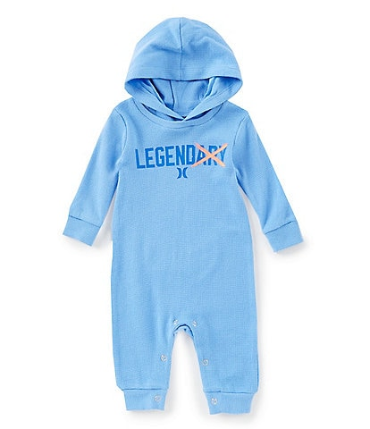 Hurley Baby Boys Newborn-9 Months Graphic Hooded Coverall