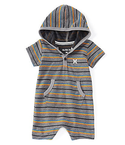 New Green Size 6 Months Baby Boy Hurley Hooded Coverall