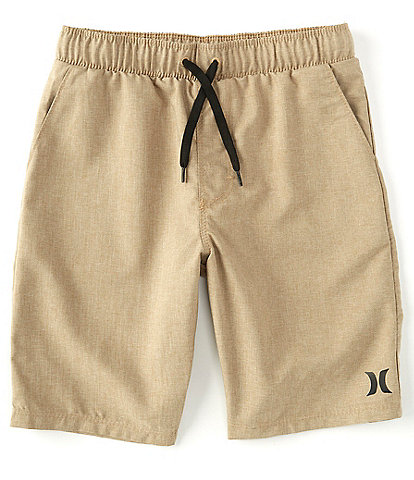 Hurley Big Boys 8-20 Heather Hybrid Pull-On Shorts