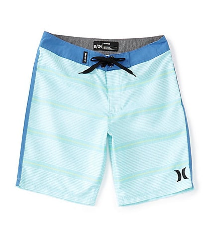Hurley Big Boys 8-20 Shoreline Striped Board Shorts