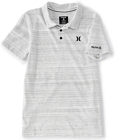 Hurley Big Boys 8-20 Short-Sleeve Streaky Polo Shirt
