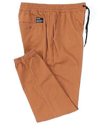 Hurley Drawcord Waist Outsider Icon Straight-Fit Jogger Pants