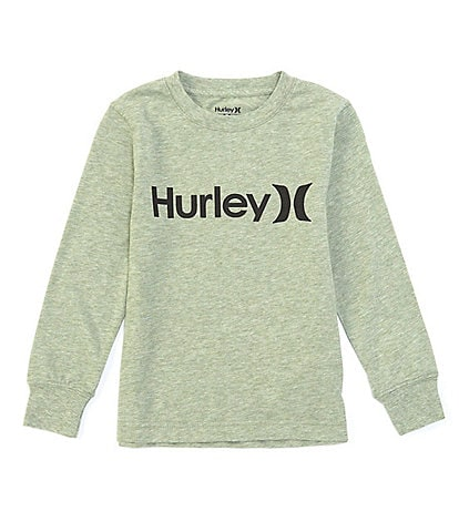Hurley Little Boys 2T-7 Long-Sleeve One & Only Tee