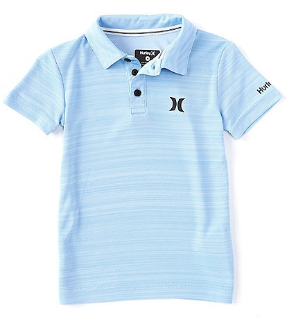 Hurley Little Boys 2T-7 Short-Sleeve Dri-FIT Belmont Polo Shirt