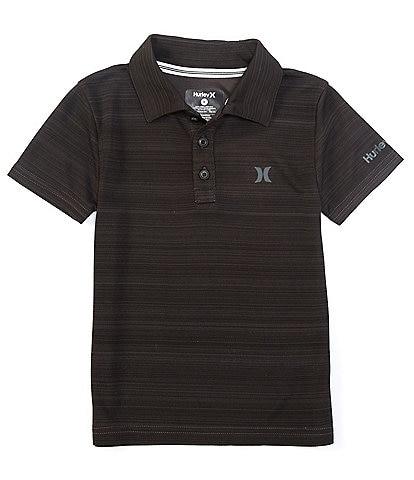 Hurley Little Boys 2T-7 Short-Sleeve Dri-FIT Belmont Polo Shirt