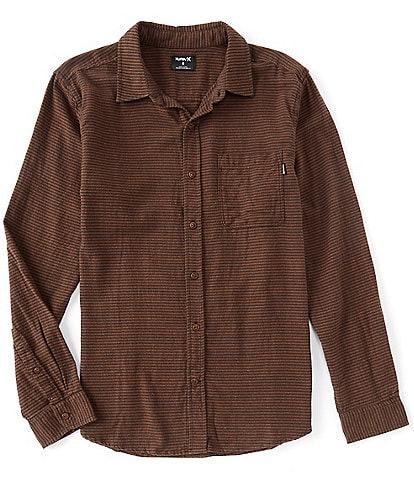 Hurley Long-Sleeve Classic Portland Flannel Shirt