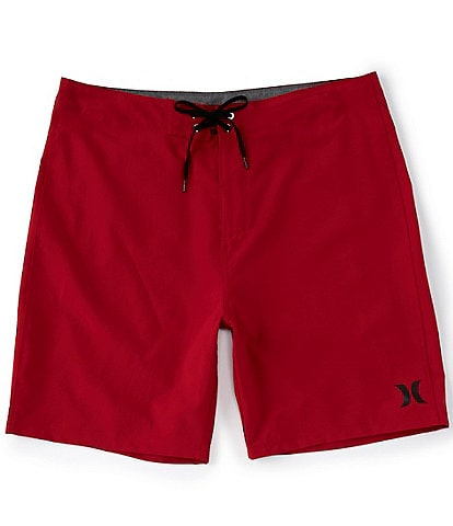 Hurley One & Only 20#double; Outseam Solid Recycled Materials Board Shorts