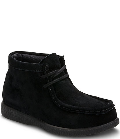 Hush Puppies Boys' Suede Bridgeport Boot
