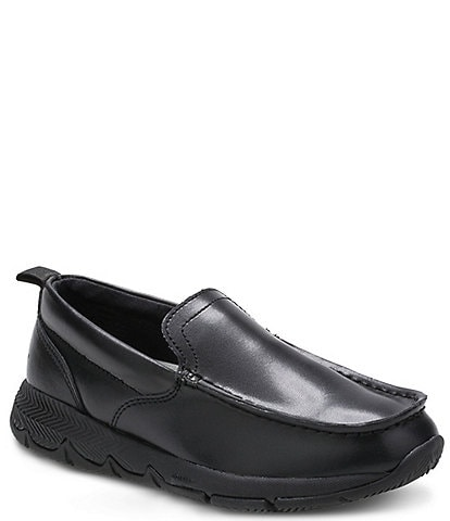 Hush Puppies Boys' School Leather Moccasins Toddler