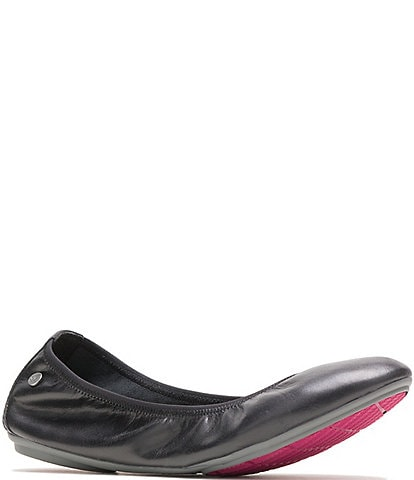 Hush Puppies Chaste Leather Ballet Flats