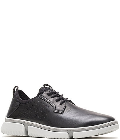 Hush Puppies Men's Bennet Plain Toe Leather Oxfords