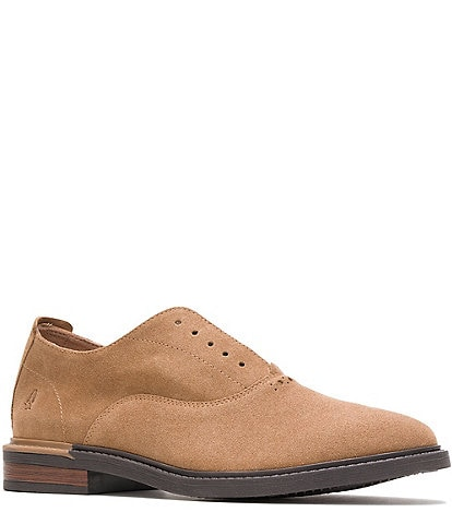 Hush Puppies Men's Davis Soft Suede Slip-On Oxfords