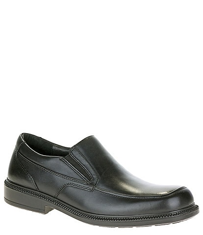 Hush Puppies Men's Leverage Waterproof Leather Slip-On