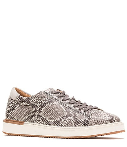 Hush Puppies Sabine Snake Print Leather Sneakers