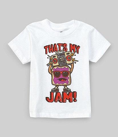 Hybrid Tees Little Boys 2T-7 Short-Sleeve Thats My Jam Graphic Tee