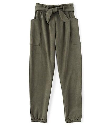 I.N. Girl Big Girls 7-16 Pocketed Woven Jogger Pants